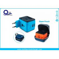 Wholesale Rubber Oil Painting Wifi Plug Socket USB Travel Adapter With Zipper Pouch Bag from china suppliers