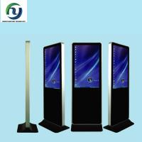 Quality Backlight 46 Horizontal Floor Standing Digital Signage , Lcd Ad Player 500cd / M2 for sale