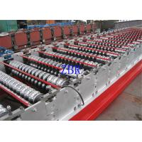 1250MM Width Glazed Roofing Corrugated Sheet Roll Forming Machine Low Noise