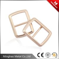 Wholesale Suitable nylon webbing zinc alloy metal tri-glide buckle 19.51*28.17mm,bag adjustable buckle from china suppliers