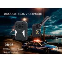 Wholesale RECODA M505 GPS Tracking Police Waterproof Body Worn Camera Night  Vision from china suppliers