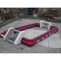 Wholesale China Supplier Inflatable Sports Football Pitch Without Floor Sheet , Inflatable Soccer Field from china suppliers