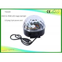 Wholesale Dmx Crystal Led Disco Ball Light , Led Magic Light With Lcd Screen from china suppliers