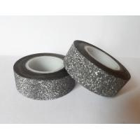 Wholesale Waterproof 3D Glitter Flower Chipboard Tape For Diy Hand-Made Art Working from china suppliers