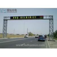 Wholesale Outdoor MBI5124 IP65 PH4.81MM Double Sided LED Display Advertising Led Screen from china suppliers