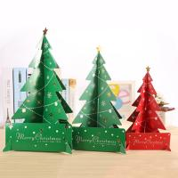 Quality Wholesale Mini Paper Christmas Tree Decor Desk Table Small Party Ornaments Xmas Gift for sale