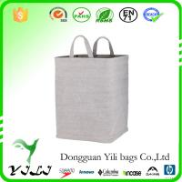 Wholesale Collapsible Soft felt Laundry Hamper from china suppliers
