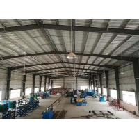 Wholesale Customized Steel Prefabricated Workshop Buildings Large Space Temperature Protection from china suppliers