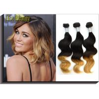 Wholesale Body Wave Peruvian 5A Human Hair Extension For Lady  3 Tone Body Weaving from china suppliers