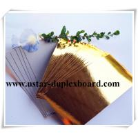 Wholesale 275gsm light gold aluminum foil paper from china suppliers