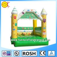 Wholesale Mini Happy Commercial Bouncy Castles For Kids / Fun Backyard Bouncers from china suppliers