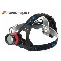 Wholesale CREE T6 Outdoor LED Headlamp /  3 Gears Zoom Helmet lights Using AA Battery from china suppliers