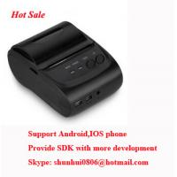 Quality POS5802 58mm Portable Mobile Bluetooth Printer with SDK for android,IOS development for sale