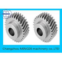 Wholesale Forged , Machined , Heat Treated Single Helical Gear Bevel Wheel OEM from china suppliers
