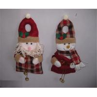 Wholesale Christmas Door Hanging with Santan and Snowman from china suppliers