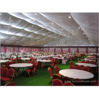 Wholesale Decorated Backyard / Garden Big Wedding Tents High Strength For 1000 People from china suppliers