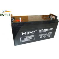 Wholesale Maintenance Free 12V 100Ah Sealed Deep Cycle Marine Batteries from china suppliers
