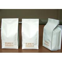 Wholesale Ceramic Quad Seal Tea Packaging Pouches Stand Up Side Gusset from china suppliers