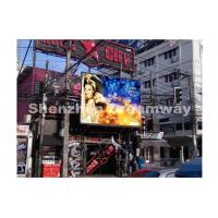 Buy cheap 8000 nits P6 Outdoor Advertising LED Display DIP246 EPISTAR LED Chip from wholesalers