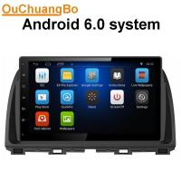 Buy cheap Ouchuangbo car radio 1080 video android 6.0 for Mazda CX-5 2012-2014 with MP3 SWC USB gps navi calculator from wholesalers