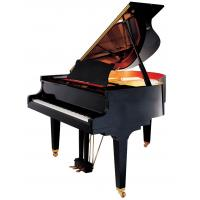 Wholesale Black Polished Classic 166cm 88 Key Modern Acoustic Grand Piano OEM  Top Seller from china suppliers