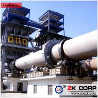 Wholesale Rotary Kiln for Calciner / Production Process of Dolomite Rotary Kiln from china suppliers