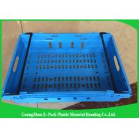 Wholesale Customzized Mesh Plastic Food Crates with Ergonomic handles or handgrips from china suppliers