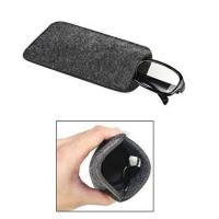 Wholesale Dark Grey Ladies Soft Sunglass Case With A Plush Styrene Interior from china suppliers