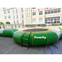 Quality Adults Custom Inflatable Water Toys For Frame Pool Plato 0.9 MM PVC Tarpaulin for sale