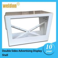 Wholesale Outdoor double sides Metal Display brackets For Advertising screem from china suppliers