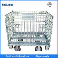Wholesale Storage cage for warehouse storage wire mesh cage Metal storage cage from china suppliers