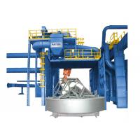 Buy cheap Turntable Type Shot Blasting Machine from wholesalers