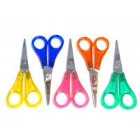 "Wholesale Childrens Kids Sharp Scissors 130mm (5"") Fun Craft Colours Left or Right Handed from china suppliers"