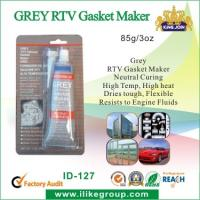 Wholesale Neutral Curing Grey RTV Gasket Maker , Flexible Resist To Engine Fluids from china suppliers