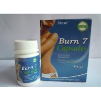 Wholesale Herbal Burn 7 Natural Slimming Pills Women fat burners Burn7 100% Original from china suppliers