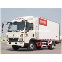 Wholesale Light Duty 290hp C700 Refrigerated Box Truck With ZF8118 Hydraulic Steering from china suppliers
