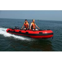 Wholesale Custom Retail PVC Inflatable Boat , Motorized Inflatable Boat from china suppliers