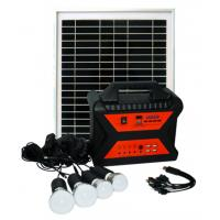 Quality 10W 18V factory wholesale price portable off grid home solar lighting system for sale