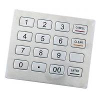Wholesale RS-232 IP65 Stainless Kiosk keypad Support DES Kiosk Metal Keyboard from china suppliers