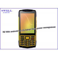 Wholesale SOS torch Rugged Outdoor SmartPhone / durable ruggedized phones ip67 from china suppliers