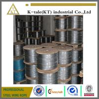 Wholesale 1x7 various steel wire rope used on aircraft Cable from china suppliers