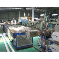 Wholesale Twin Screw Plastic Extruder Machine For Window And Door Profile With PLC Control System from china suppliers