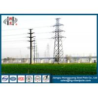 Buy cheap 12m Steel Utility Poles Bangladesh 350daN Loading Design from wholesalers