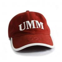 China Sandwich Bill sports baseball caps color mixed curve brim golf hats supplier factory wholesale dad hats 5 panel leisure on sale