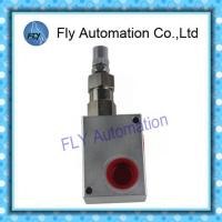 Wholesale Aluminium Hydraulic Dump Truck Controls Pressure Relief Valve 80 I/min from china suppliers