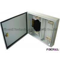 Wholesale Wall Mounted Waterproof Fiber Optic Termination Box 24 Fibers For Outdoor Use from china suppliers