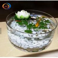 Buy cheap Goldfish Tank Round Gallon Glass Fish Bowl / round shape indoor fish tank from wholesalers