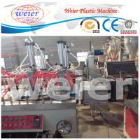 Wholesale 300-600mm WPC Extrusion Line , 3D decorative hollow panel Wood Plastic Composite Extruder from china suppliers