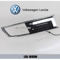 Wholesale VW Lavida DRL LED Daytime driving Lights car front daylight for sale from china suppliers