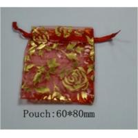 Wholesale Organza Fabric Custom Jewelry Gift Bags Pouch For Bracelets / Ring / Necklaces from china suppliers